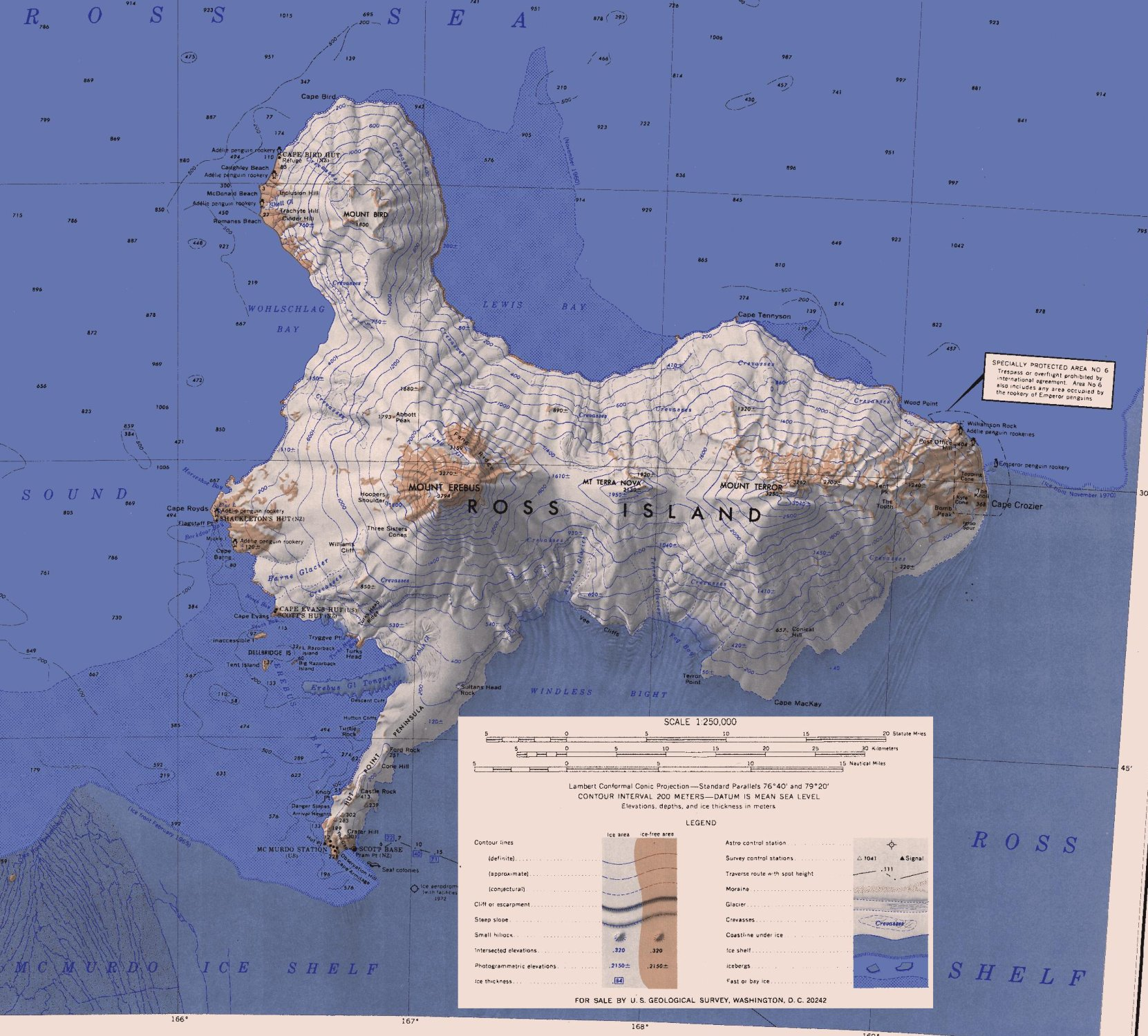 Maps On How To Get To Bouvet Island